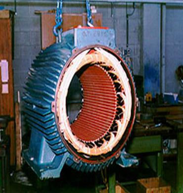 Motore in riparazione
